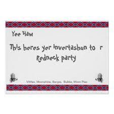 Redneck christmas party invitations bachelorette party invites redneck party invitation stopboris Image collections