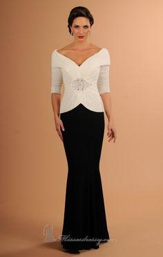 Daymor 610 Dress - MissesDressy.com  Available here: http://www.missesdressy.com/long-dress-daymor-couture-p-33897.html  #motherofthebride #wedding #dress