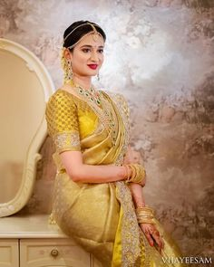 Shopzters Pastel Shade Sarees To Beat The Cliches And Seal The Show In Style Bridal Sarees South Indian, Wedding Silk Saree, Indian Bridal Fashion, Indian Wedding Outfits, Bridal Outfits, Pakistani Bridal, Indian Weddings, Pattu Sarees Wedding, Designer Sarees Wedding