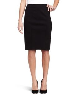 Magaschoni Women's Pencil Skirt Magaschoni. $268.00. Slimming fabric and stitching details. Made in Hong Kong. Back zip and venting. Dry Clean Only. No fur. 98% Polyester/2% Polyutherane