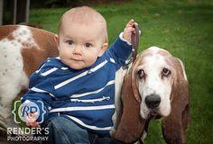 Ways to photograph pets! Pet Photographer, Basset Hound, Photo Ideas, Babies, Pets, Funny, Photography, Animals, Clothing