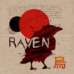 Art Direction, Raven, Aesthetics, Movies, Movie Posters, Graphic Design, Crow, Film Poster, Films