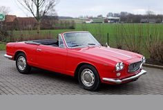 Lancia Flavia Vignale 1959 Maintenance/restoration of old/vintage vehicles: the material for new cogs/casters/gears/pads could be cast polyamide which I (Cast polyamide) can produce. My contact: tatjana.alic@windowslive.com