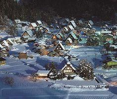 Shirakawa-gou, world heritage #Gifu #Japan