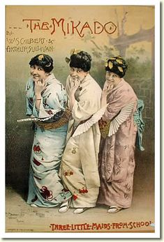 Gilbert and Sullivan's The Mikado or The Town of Titipu