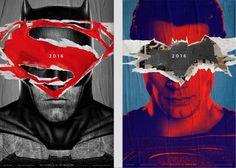 Warner reveals Batman v Superman poster