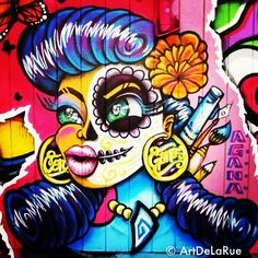 Rockabilly street art