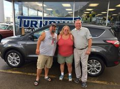 Mike Cobb and the rest of the Turnpike Ford Team wish to thank Mr & Mrs Shelton for their business 😉👍