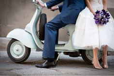 12th century marriage | Vintage purple hued wedding in Italy | Belle & ChicBelle & Chic