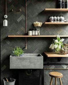 Bathroom Inspiration, Interior Inspiration, Beton Design, Kitchen Drawer Organization, Blog Deco, Small Room Bedroom, Home Decor Accessories, Living Room Designs, Kitchen Remodel