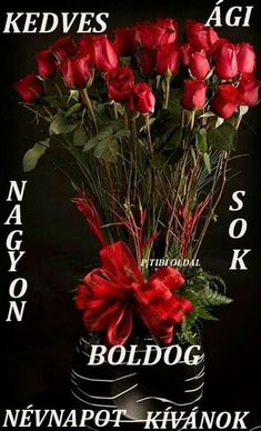 ༺♥༻Black in Back༺♥༻ Million Roses, Shoot The Moon, Preserved Roses, Name Day, Good Morning Good Night, Types Of Flowers, Begonia, Flower Basket, Rose Wedding