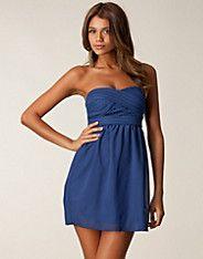 Kajsa Dress - Oneness - Navy - Festklänningar - Kläder - NELLY.COM Mode online på nätet