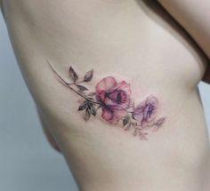 Roses by Tattooist Flower