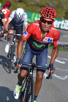71st Tour of Spain 2016 / Stage 14 Nairo QUINTANA Red Leader Jersey…