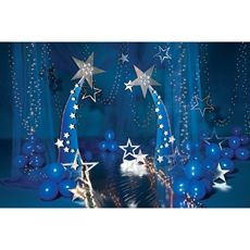 Star Party Theme. Like the twinkle lights in the tulle