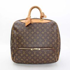 Louis Vuitton Evasion  Monogram Handle bags Brown Canvas M41443