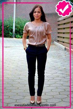 Las 15 Mejores Imágenes De Pantalón Azul Marino Outfit