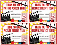Teacher Appreciation Redbox Gift Tag Thank You For A Picture