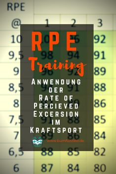 Das Training nach de