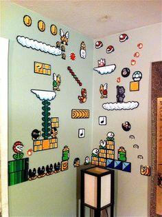 hama beads mario bros - Buscar con Google