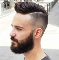 58 Best Frisuren Manner Undercut Images Haircuts Beard Haircut