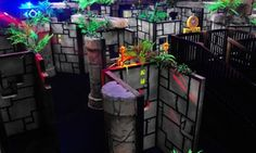 Groupon - $ 59 for Lazer Tag, Trampoline, Card, and Pizza for 4 at Xtreme Adventures Family Fun Center ($105 Value)  in Lutz. Groupon deal price: $59