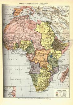 The Scramble for Africa, 1898 [2490x3563]  Aparece já Moçambique com os contornos actuais, mas o nome é um pouco diferente.