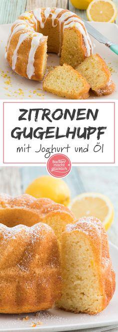 Flaumig, saftig, locker: Dieser Zitronen-Joghurt-Gugelhupf vereint alle Eigenschaften eines guten Rührkuchens. noch dazu ist der Joghurtkuchen mit Zitrone schnell gemacht.