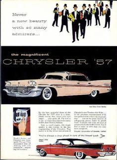 1957 Chrysler New Yorker Four Door Hardtop