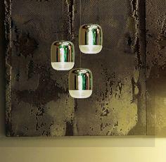 Inlite — Products - PRANDINA - GONG MINI LED - GONG MINI 3R LED 3LAMPS COPPER