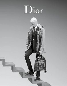 Dior Homme Reunites with Baptiste Giabiconi for Spring Ads