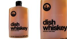 16 ounces of barrel-aged, charcoal-filtered, whiskey-inspired dish soap. You know how cowboys used whiskey to clean their bullet wounds? Whiskey, Barrel, Soap, Cleaning, Dishes, Coffee, Dandy, Drinks, Whisky
