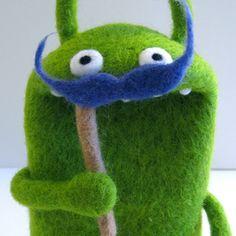 Mustache the Muppet