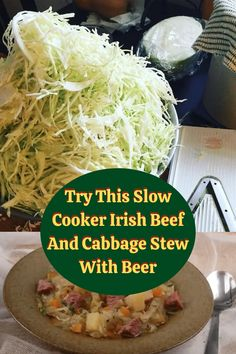 #Slow #Cooker #Irish #Beef #Cabbage #Stew #Beer Cabbage Stew, Cabbage And Beef, Irish Beef, Sport Hairstyles, Heatless Hairstyles, New Years Eve Outfits, Food Combining, Us Foods, Slow Cooker Recipes