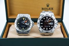 We got our hands on two examples of less talked about Rolex watches: the Rolex Explorer II. Check out the vintage-versus-new comparison.