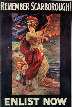 Scarborough - 16th Dec 1914 - Attack by the Imperial German Navy On Britain