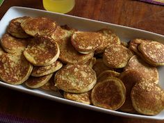 Light and Fluffy GAPS Intro Diet Pancakes with Lemon Honey Syrup