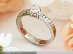 Aphrodité Slim №2 – eljegyzési gyűrű