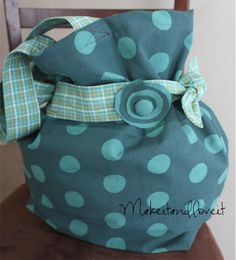 Bag……from Tea Towels | Make It and Love It