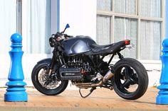 Ottonero Cafe Racer: maggio 2015 Bmw Motorcycles, Custom Motorcycles, Custom Bikes, Cafe Bike, Bmw Cafe Racer, Cafe Moto, Bobber, K100 Scrambler, Custom Bmw