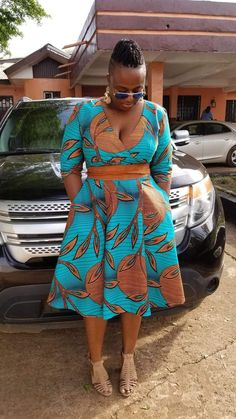 AFRICAN ATTIRE DRESSES FOR PLUS SIZE LADIES