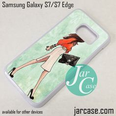 Office Girl Phone Case for Samsung Galaxy S7 & S7 Edge