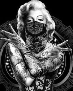 Vintage wallpaper iphone black and white marilyn monroe 43 Ideas for 2019 Marilyn Monroe Wallpaper, Marilyn Monroe Tattoo, Marilyn Monroe Portrait, Marilyn Monroe Photos, Chicano Drawings, Chicano Art, Skull Girl Tattoo, Supernatural Fan Art, Dope Cartoon Art