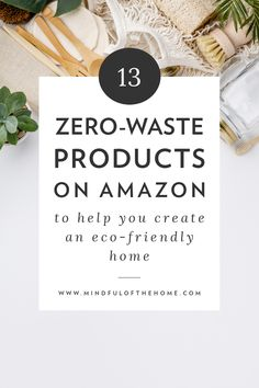 Zero waste products on Amazon. Eco Friendly Bags, Eco Friendly House, Natural Loofah, Au Natural, Glass Spray Bottle, Natural Lifestyle, Alternative Medicine, Alternative Health, Sustainable Living