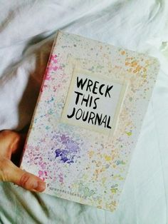 wreck this journal | Tumblr