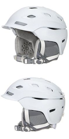 Protective Gear 36260: Smith Optics Womens Adult Vantage Snow Sports Helmet - White Large 59-63Cm -> BUY IT NOW ONLY: $61.4 on eBay!