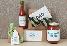 Fun and easy homemade gifts for Father's Day..