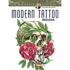 Designed by an Ink Master artist!Enter into a racy world of tattoo art with these 31 edgy, imaginative renditions of flowers, dragons, skulls, hearts, wild animals, angels, and other creatures of fantasy and nature.