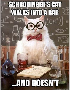 Nerd jokes are fun! (but I will admit, I can thank The Big Bang Theory for knowing why this is funny!)