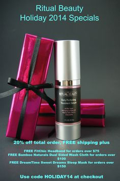 Did you miss out on Cyber Monday sales? Don't worry, Ritual Beauty has fabulous savings starting now! Cyber Monday Specials, Cyber Monday Sales, Skin Serum, Blog Love, Washing Clothes, Gift Wrapping, Atlanta, Holiday, Posts